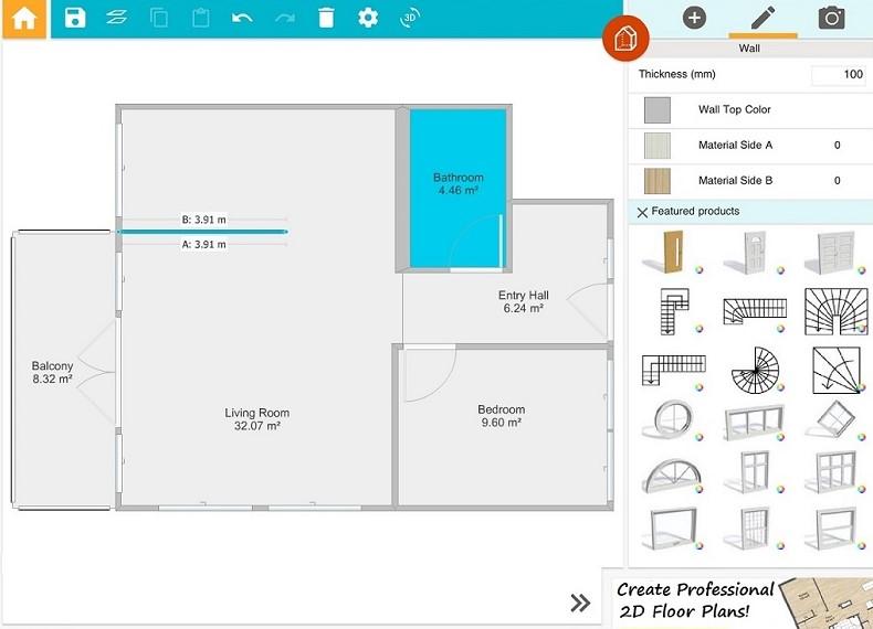 RoomSketcher Pro