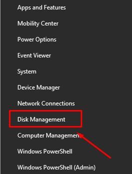 Disk Management - Flash Disk Tidak Terbaca