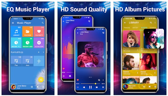 Audio Player untuk android