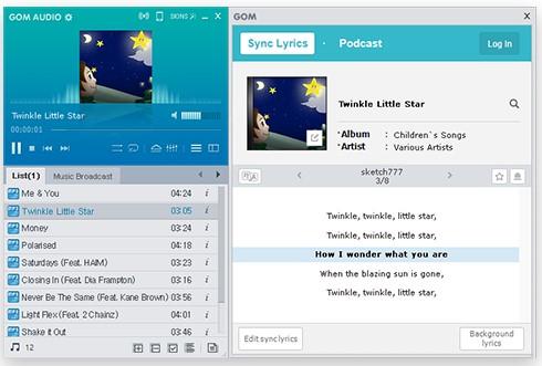 GOM Audio putar lagu favorit dari platform video, streaming musik