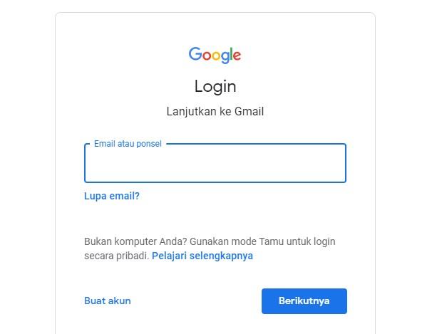 Menarik Pesan di Gmail